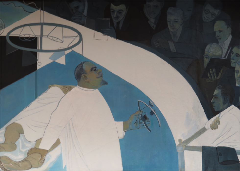 1900-1927 - The History of Medicine in Louisiana Mural
