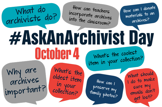 Flyer: Ask An Archivist Day - 2017 Fall