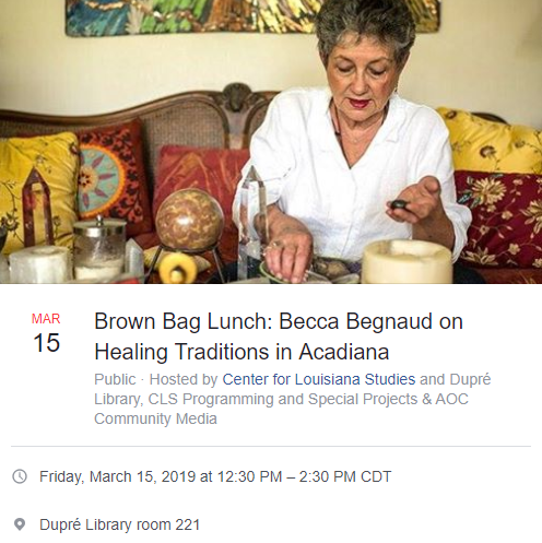 Campus Activities: Brown Bag Lunch Series - 2019 Spring
