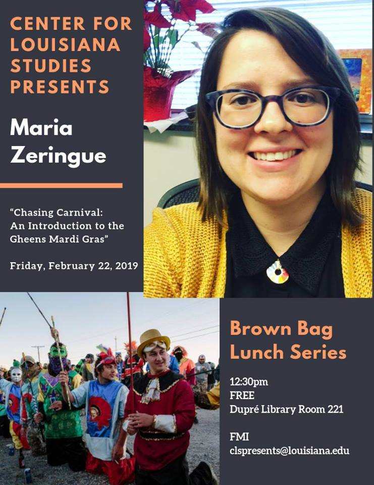 Flyer: Brown Bag Lunch Series - 2019 Spring