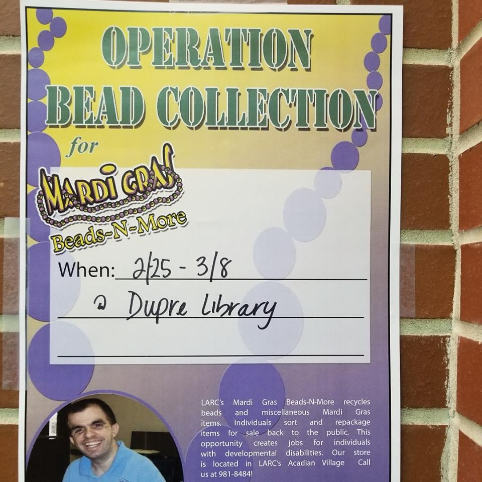 Drives: Operation Bead Collection - 2019 Spring