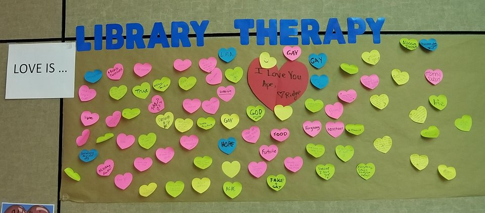 Library Therapy - 2018 Spring - Love Is...
