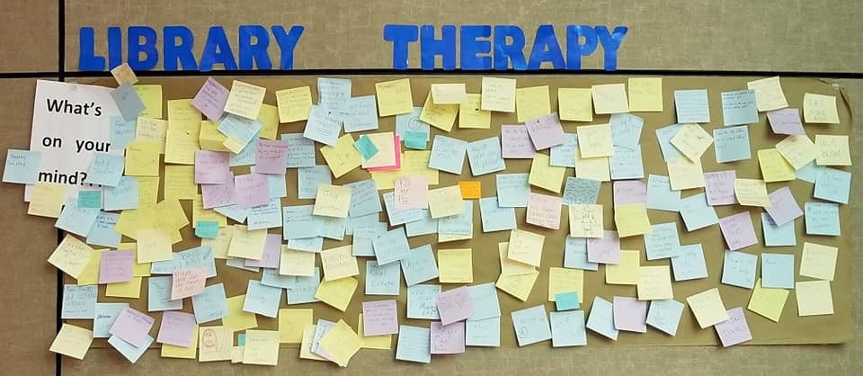 Library Therapy - 2018 Spring - What's on Your Mind?...