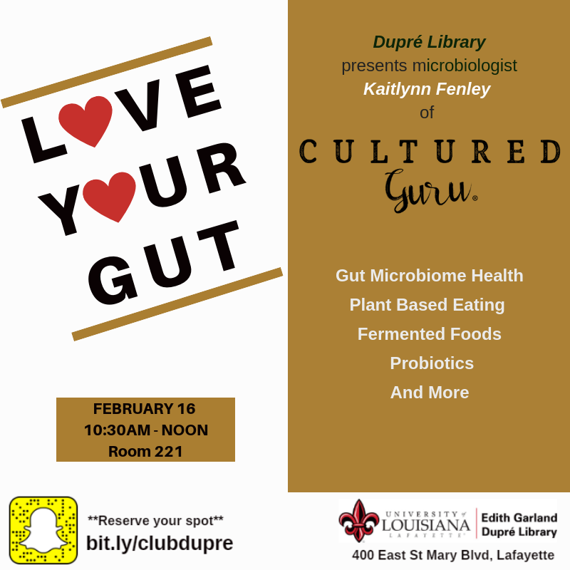 Flyer: Love Your Gut - 2019 Spring