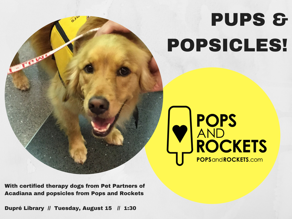 Flyer: Pups & Popsicles - 2017 Fall