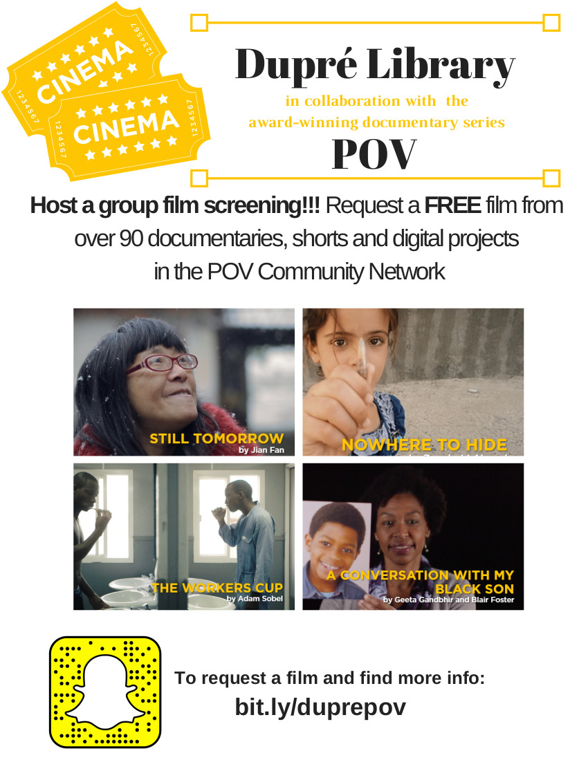 Flyer: Group Film Screening - 2018 Fall