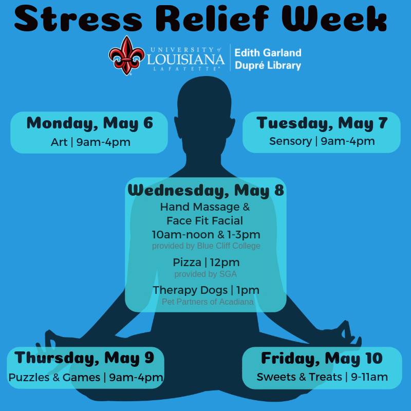 Flyer: Stress Relief Day - 2019 Spring