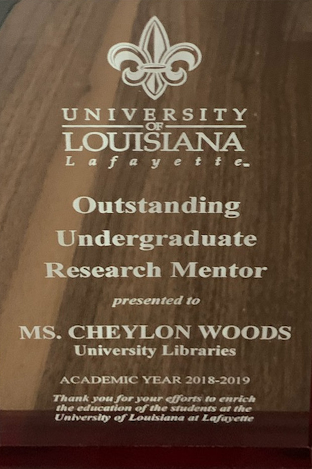 Research Recognition Reception Award - 2020